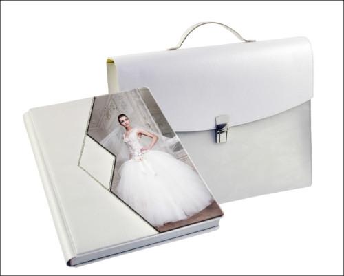 Copertina Crystal White con foto