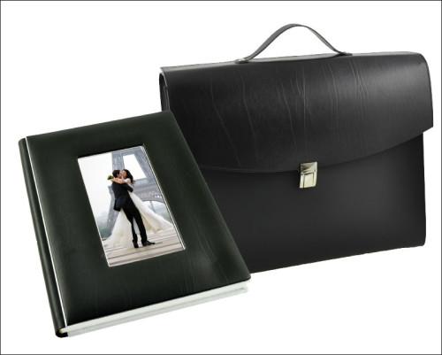 Copertina linea Piano Black con foto