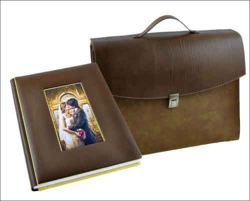 Copertina Piano Brown con foto
