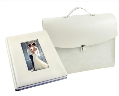 Copertina linea Piano White con foto